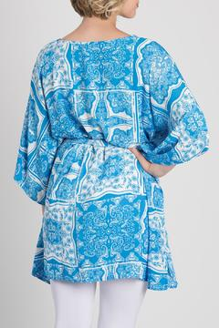 My Beloved Blue Printed Tunic - Alternate List Image