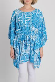 My Beloved Blue Printed Tunic - Product Mini Image