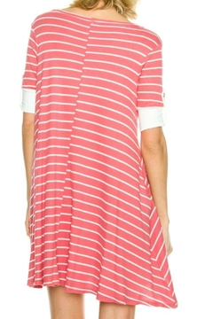 My Beloved Pink Striped Dress - Alternate List Image