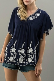 My Beloved Embroidered Top - Front cropped