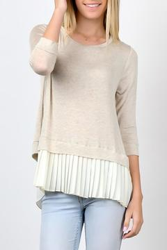 My Beloved Beige Tunic Top - Product List Image