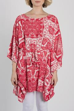 My Beloved Red Printed Tunic - Product List Image