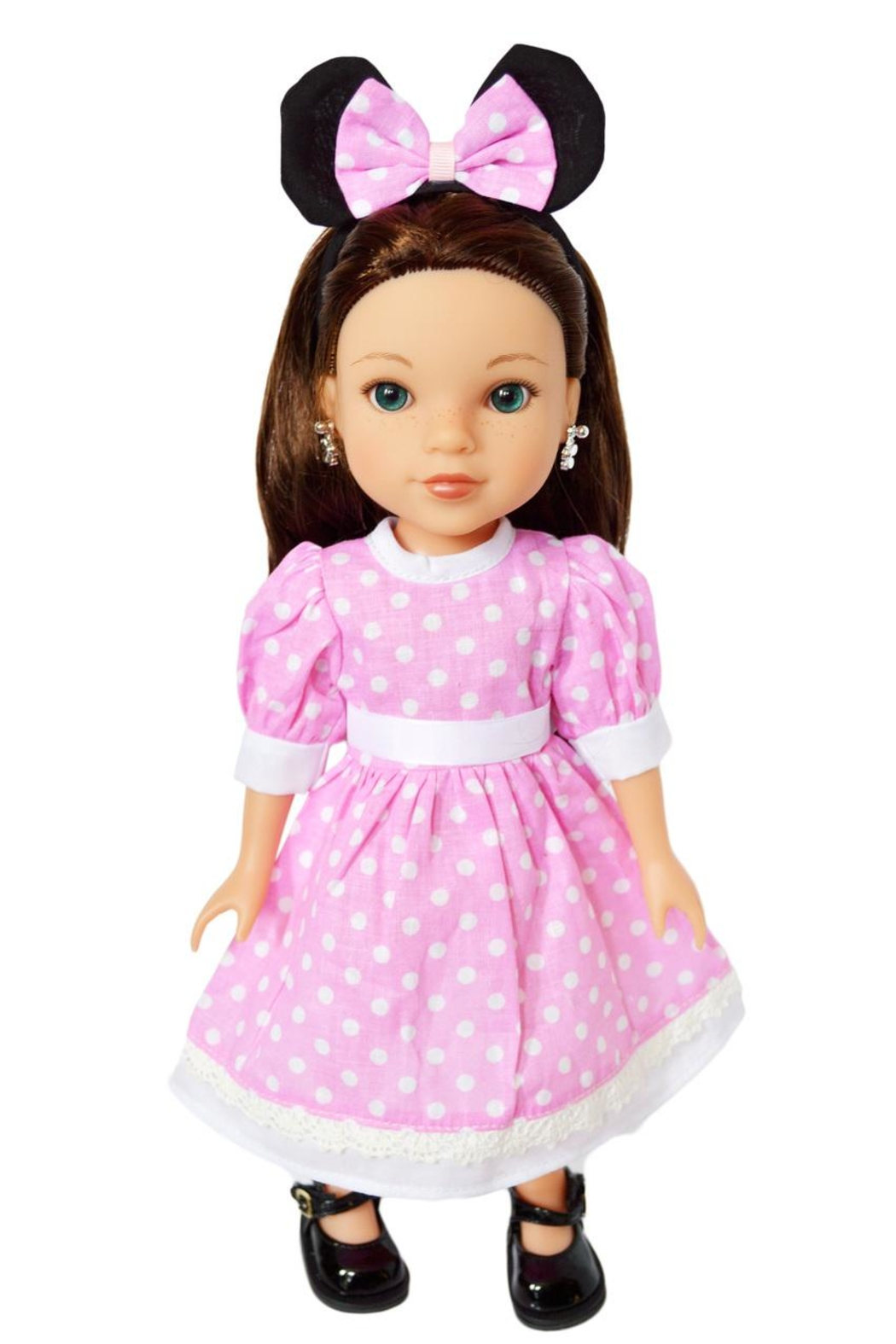 My Brittany's Doll Minnie Inspired Dress - Main Image
