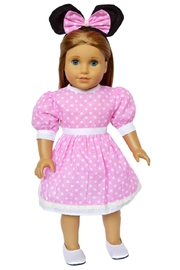 My Brittany's Doll Minnie Inspired Dress - Product Mini Image