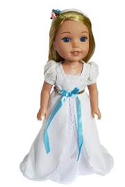 My Brittany's Doll Victorian Gown - Front cropped