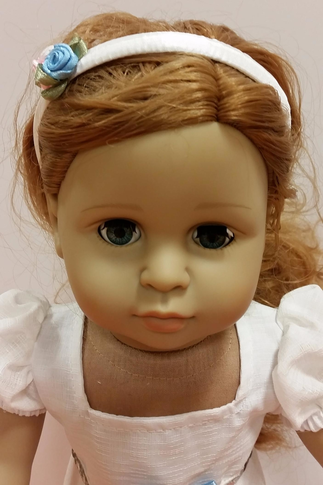 My Brittany's Doll White Victorian Gown - Side Cropped Image