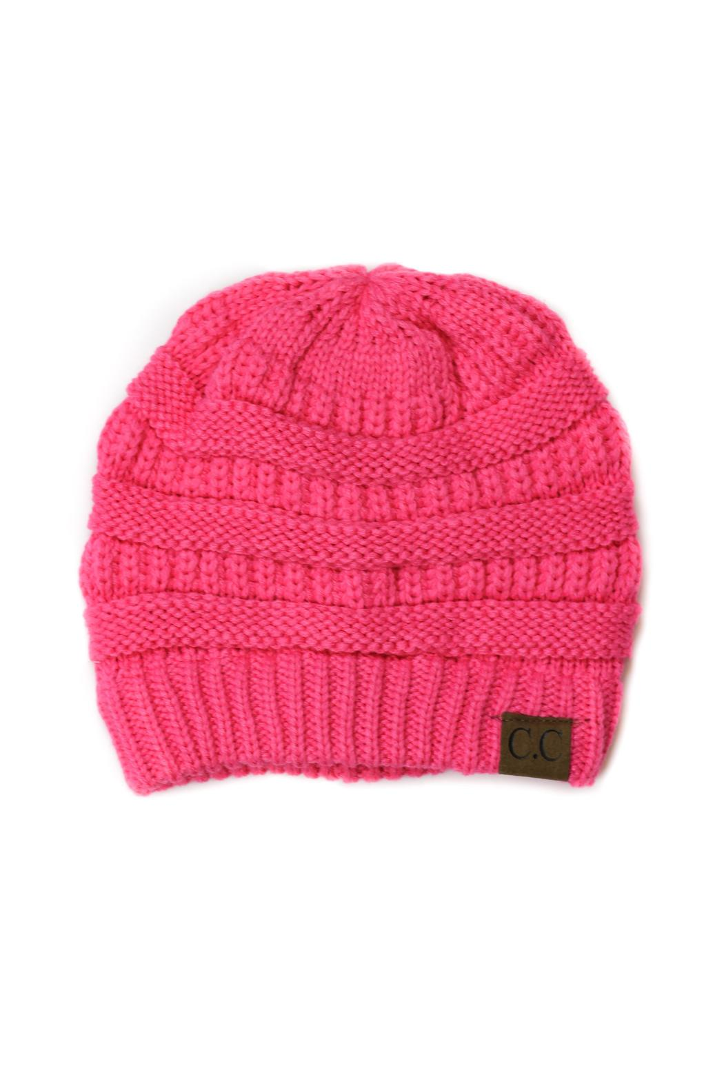 7f9ef8bc24e86 C.C Beanie Pink Beanie from Minneapolis by StyleTrolley