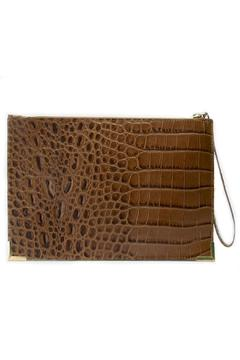 My Choice Crocodile Embossed Clutch - Alternate List Image