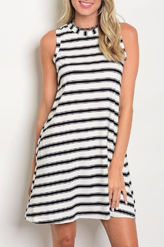 Shoptiques Product: Striped Sleeveless Dress