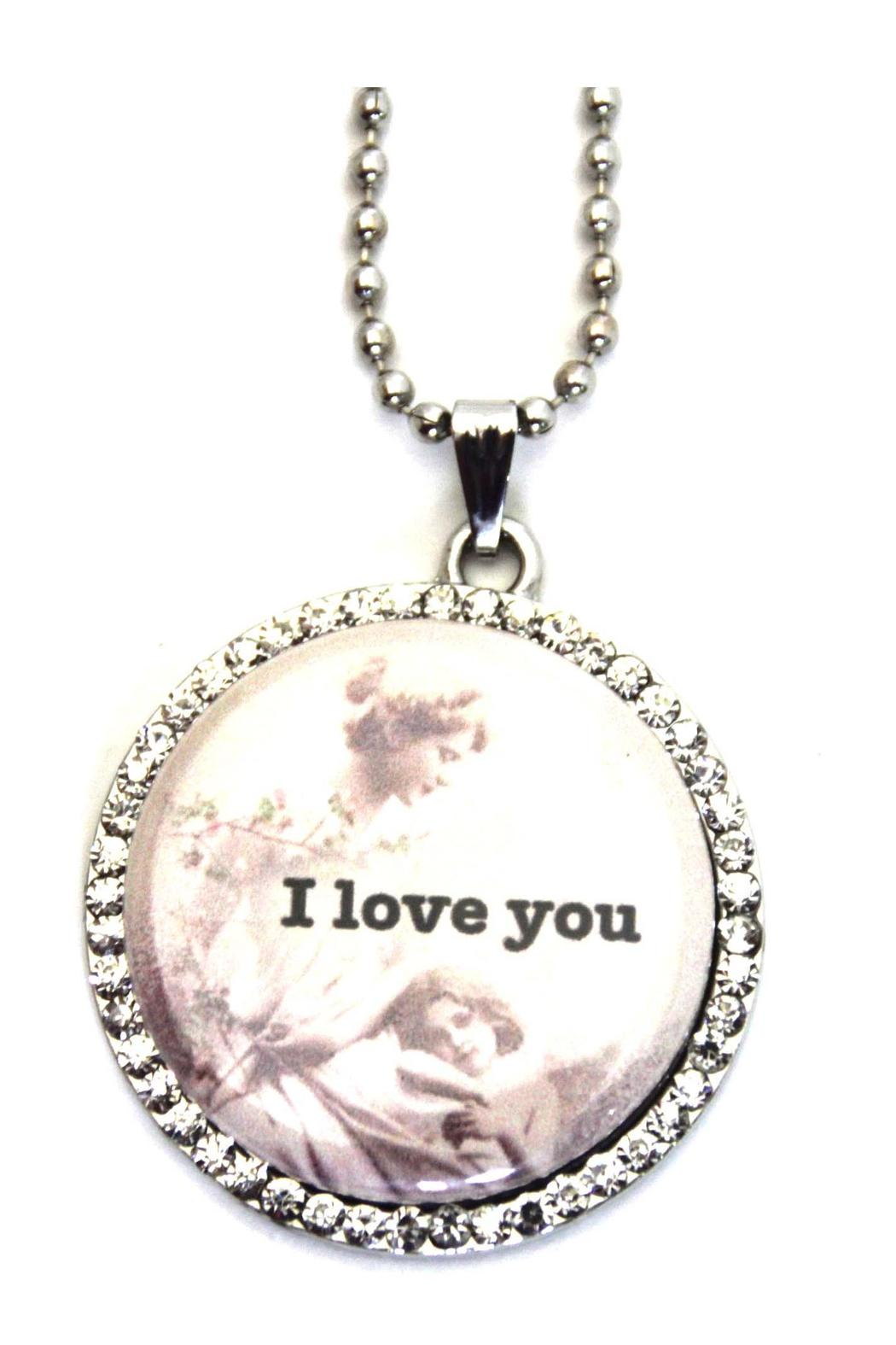 My Favorite Things Necklace Love You - Main Image