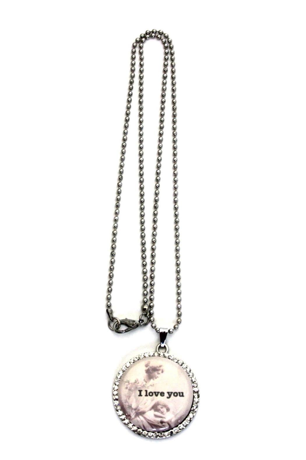 My Favorite Things Necklace Love You - Front Full Image