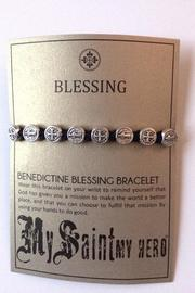 My Saint My Hero Benedictine Blessing Bracelet - Front full body