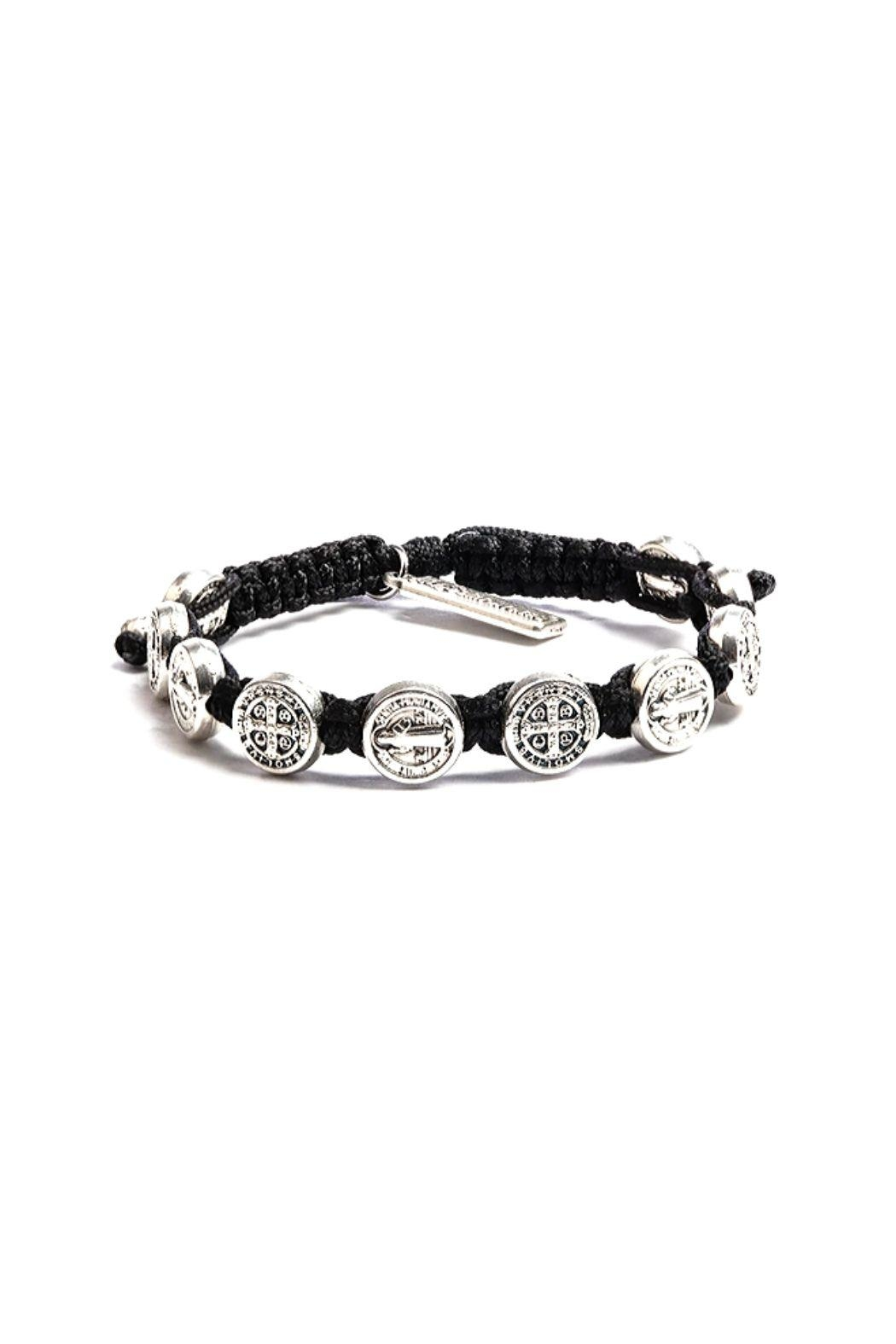 My Saint My Hero Benedictine Blessing Bracelet - Front Cropped Image