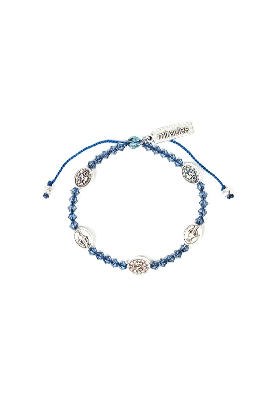 My Saint My Hero Stellar Blessings Miraculous Mary Blessing Bracelet - Main Image