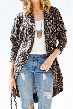 My Story Animal Print Cardigan - Product List Image