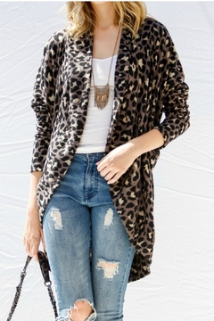 My Story Animal Print Cardigan - Alternate List Image