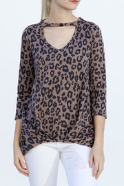 My Story Animal Print Top - Product Mini Image