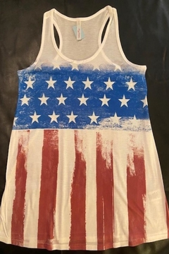 My Story Flag Tank Top - Product List Image