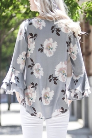 My Story Floral Top - Front full body