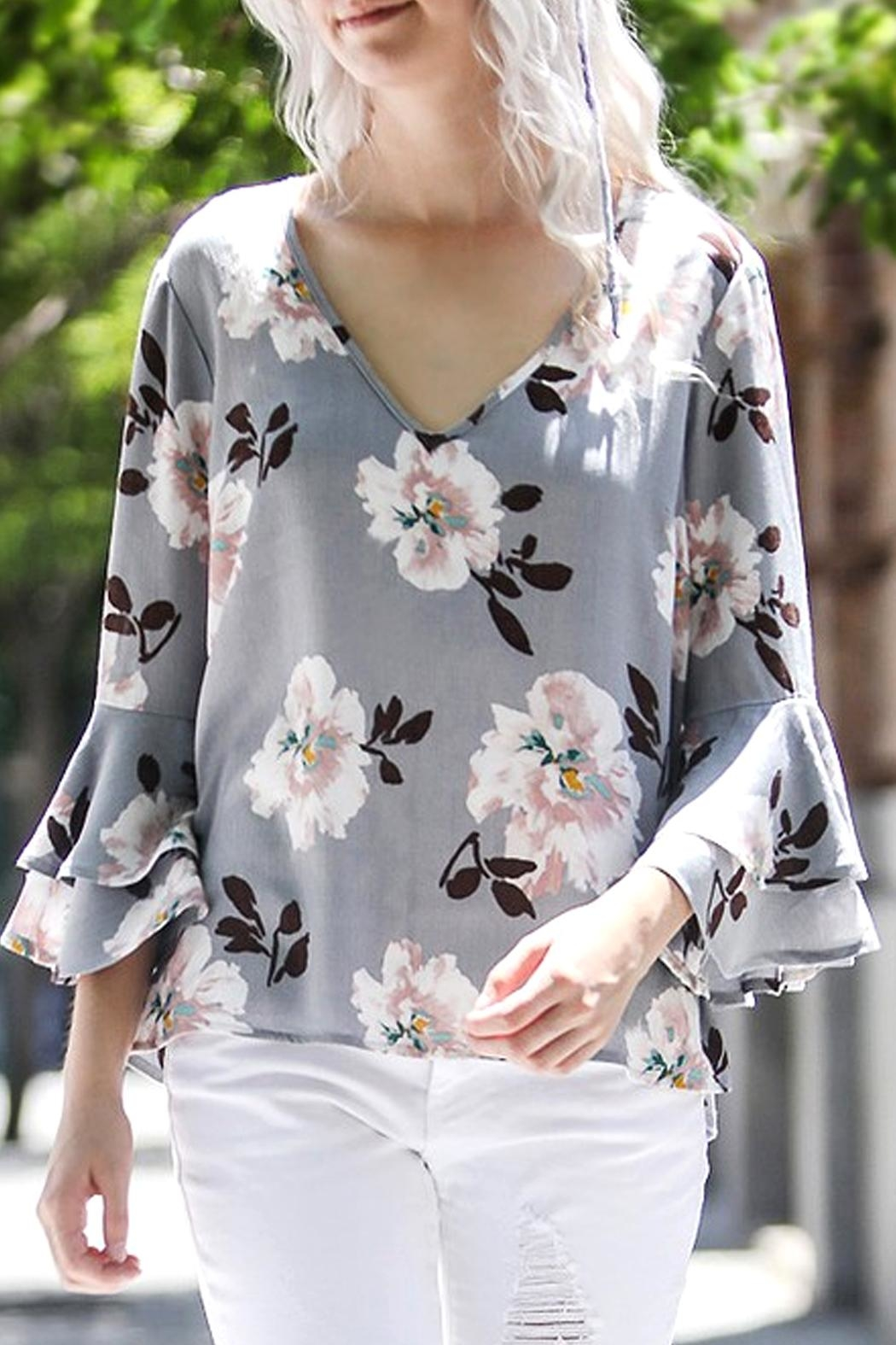 My Story Floral Top - Main Image