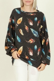 My Story Indian Feather Top - Product Mini Image