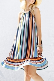 My Story Multi-Color Halter Dress - Product Mini Image