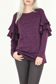My Story Ruffle Long Sleeve Top - Product Mini Image