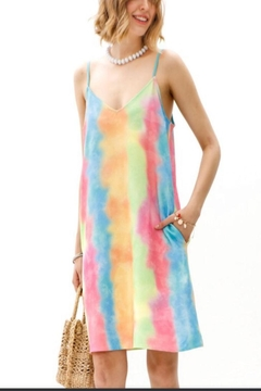 My Story Tie Dyed Dress - Product List Image