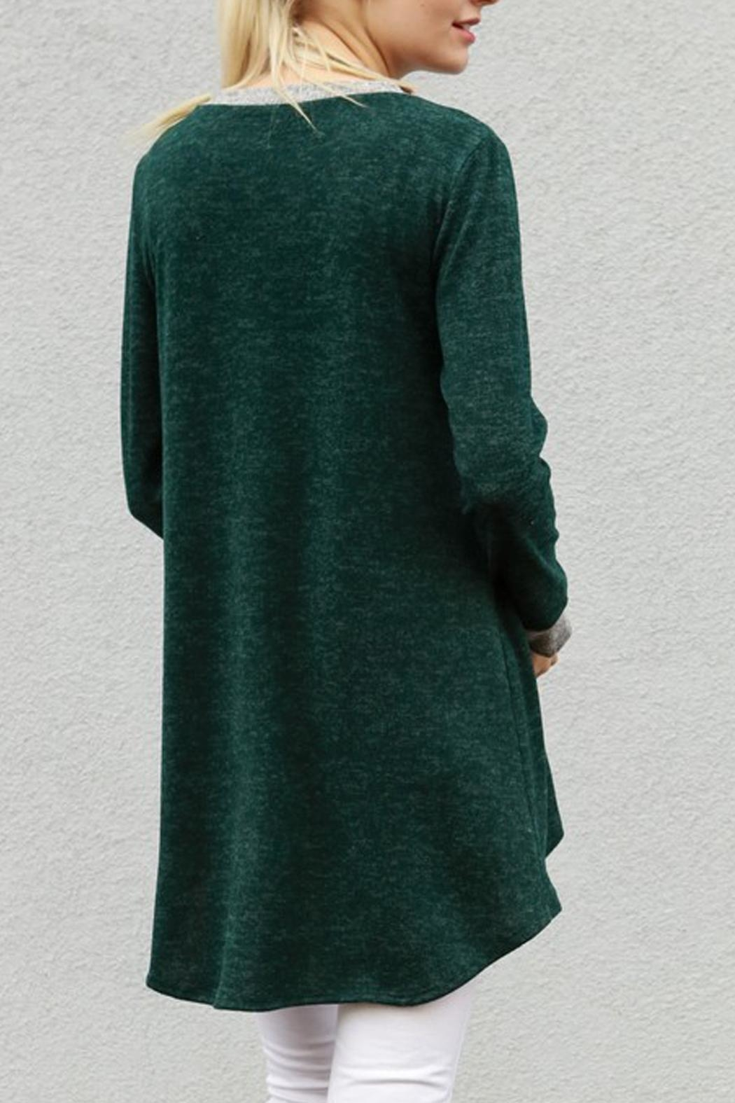 My Story Tunic Sweater Top - Side Cropped Image