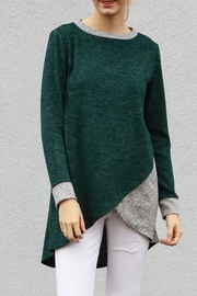 My Story Tunic Sweater Top - Front full body