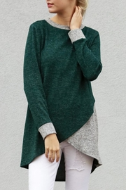 My Story Tunic Sweater Top - Front cropped
