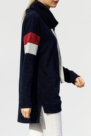 My Story Turtleneck Tunic Sweater - Front full body