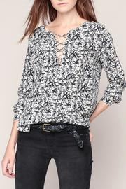My Sunday Morning Silk Blouse - Product Mini Image