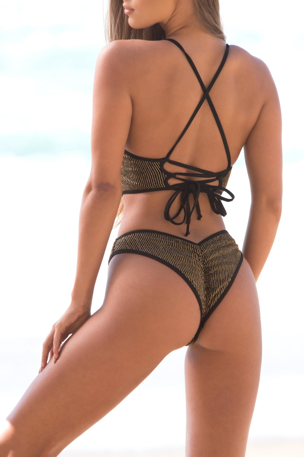 Chynna Dolls Mykonos Cut-Out One-Piece - Front Full Image