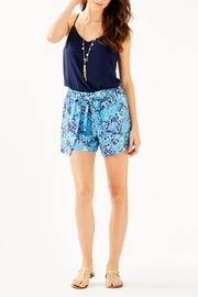 Lilly Pulitzer Mylee Tie-Front Short - Back cropped