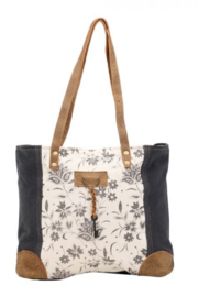 Myra Bag ABSTRACT KEY TOTE BAG S-1456 - Product Mini Image
