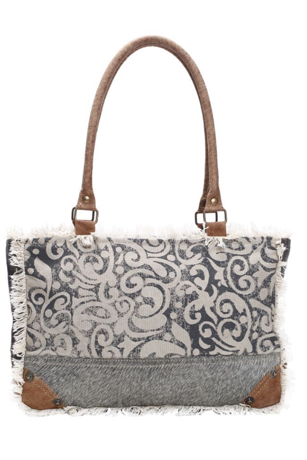 Myra Bag LEAF PRINT SMALL BAG S-1151 - Front Cropped Image