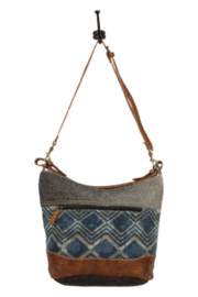 Myra Bag Myra Mid Town Tide Shoulder Bag 1583 - Front full body