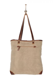 Myra Bags Myra Sack Tote Bag 1989 - Front full body
