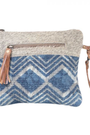 Myra Bags Myra Teal Pouch 1601 - Front cropped