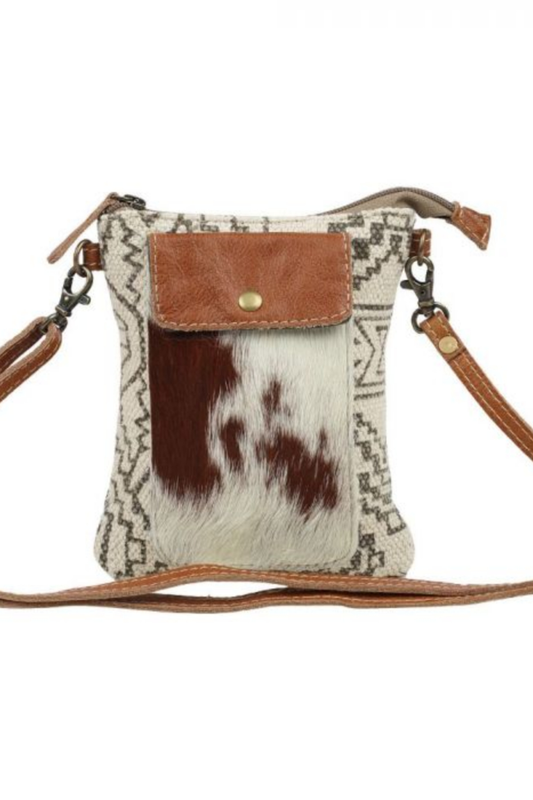 Myra Bag Myra Vuierra Rivet Small Crossbody Bag 1563 - Front Cropped Image