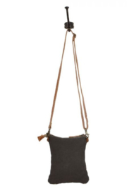 Myra Bag Myra Vuierra Rivet Small Crossbody Bag 1563 - Front full body