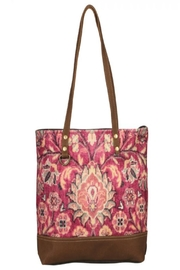 Myra Bags Blossomy-Pink Tote Bag - Front full body
