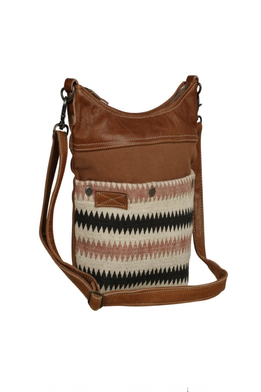 Myra Bags Drooly Small-Crossbody Bag - Side Cropped Image