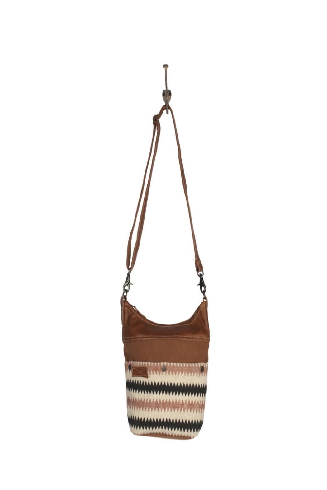 Myra Bags Drooly Small-Crossbody Bag - Back Cropped Image