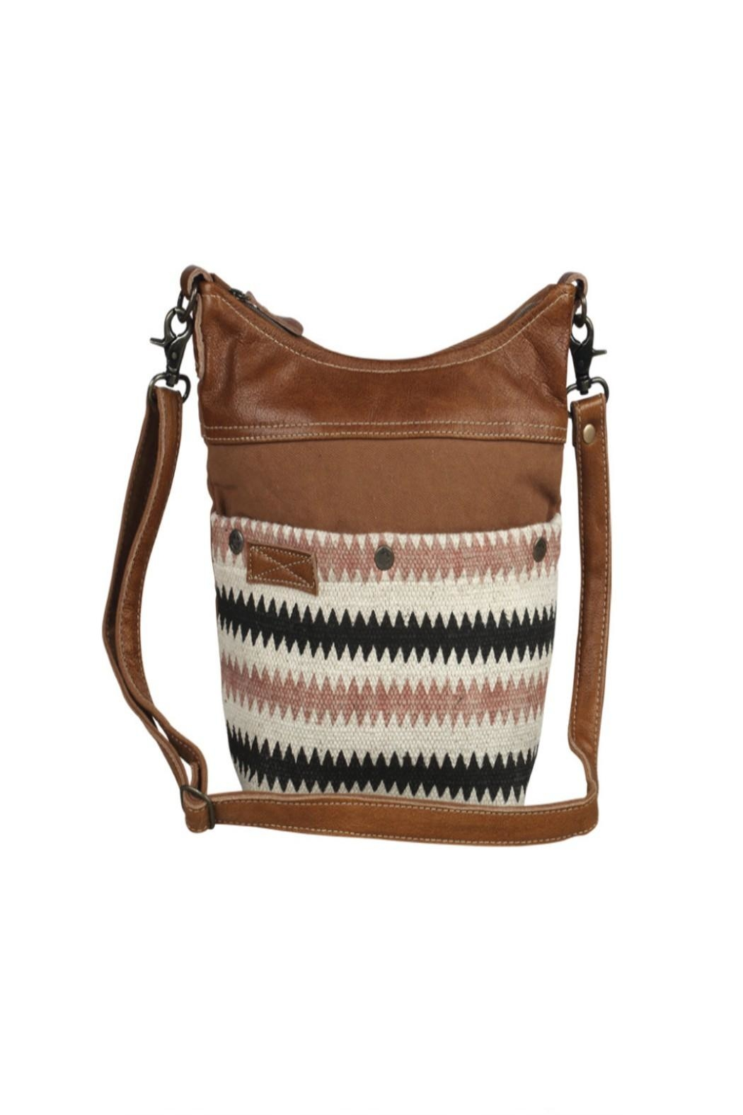 Myra Bags Drooly Small-Crossbody Bag - Front Full Image