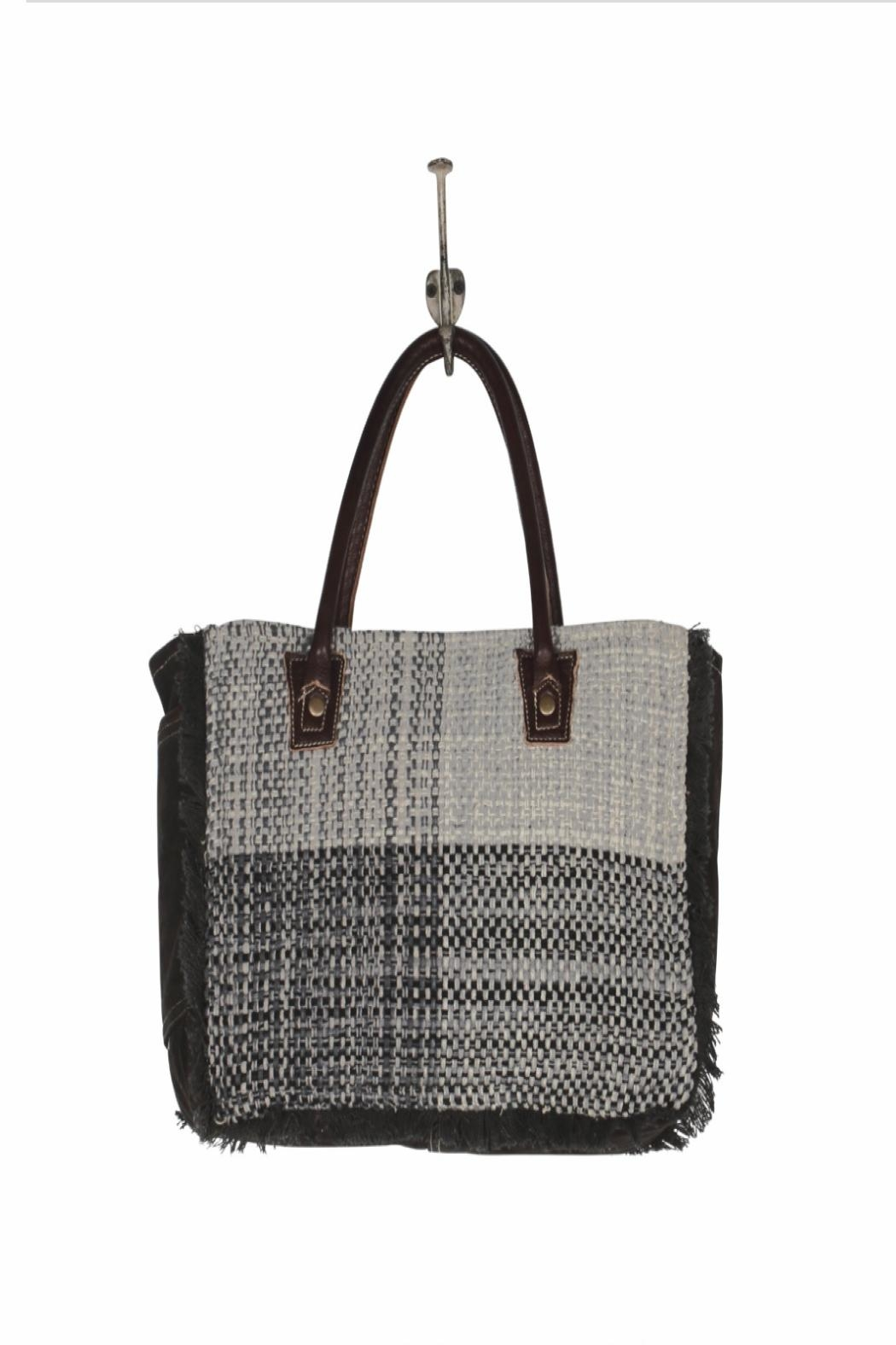 Myra Bags Ouch-Grouch Small-Crossbody Purse - Back Cropped Image