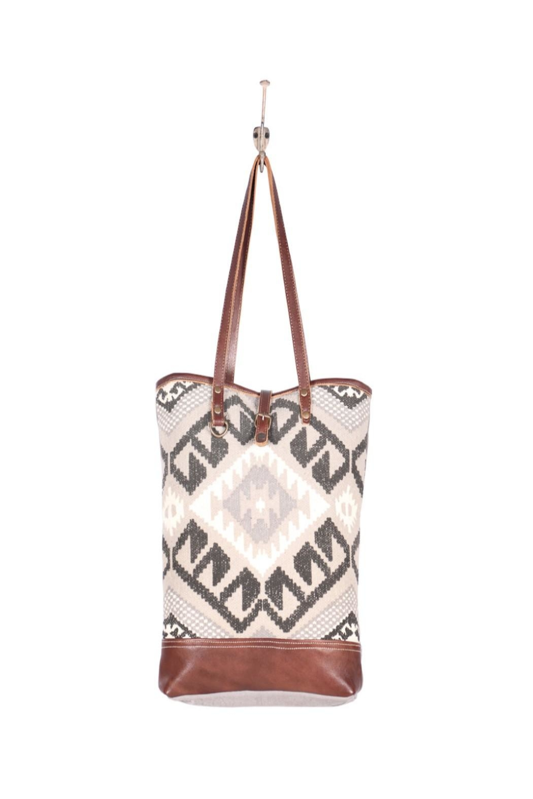 Myra Bags Pure Tote Bag - Back Cropped Image
