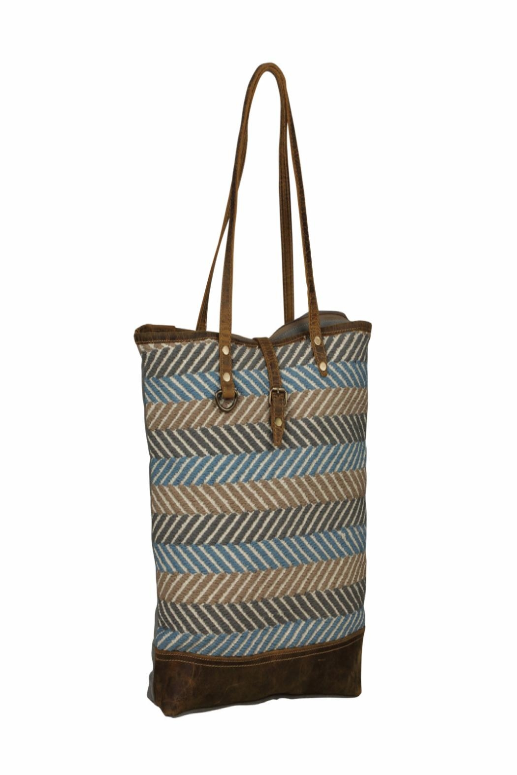 Myra Bags Serene Tote Bag - Side Cropped Image