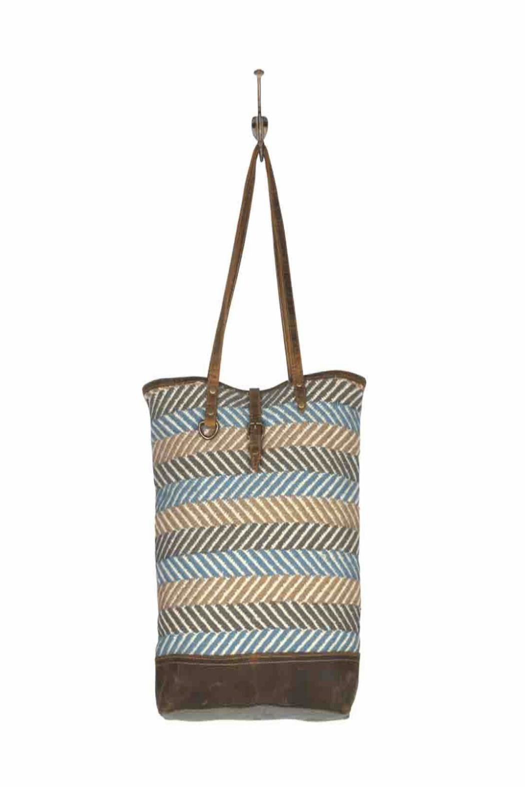 Myra Bags Serene Tote Bag - Back Cropped Image
